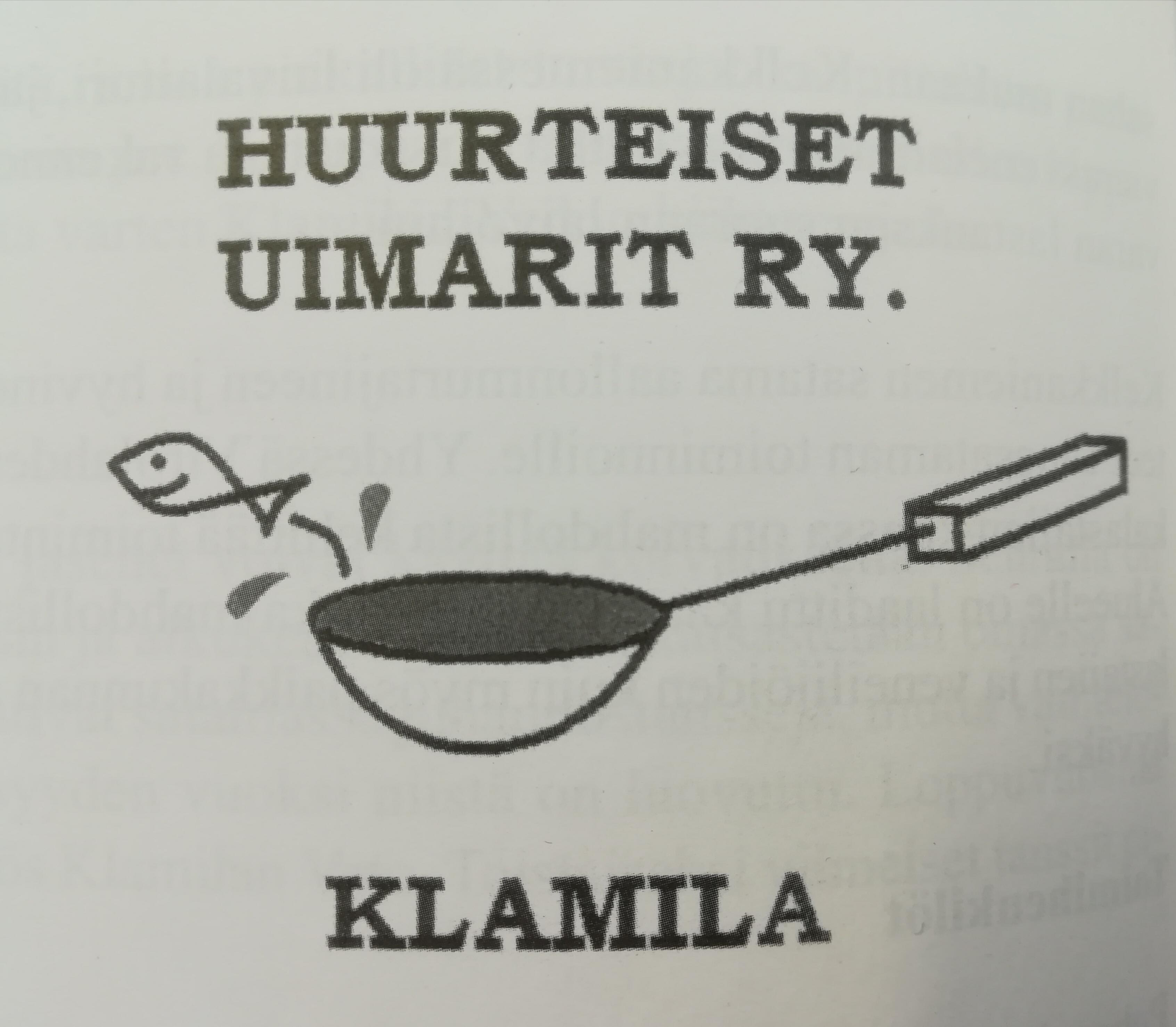 Huurteisten Uimareiden logo.