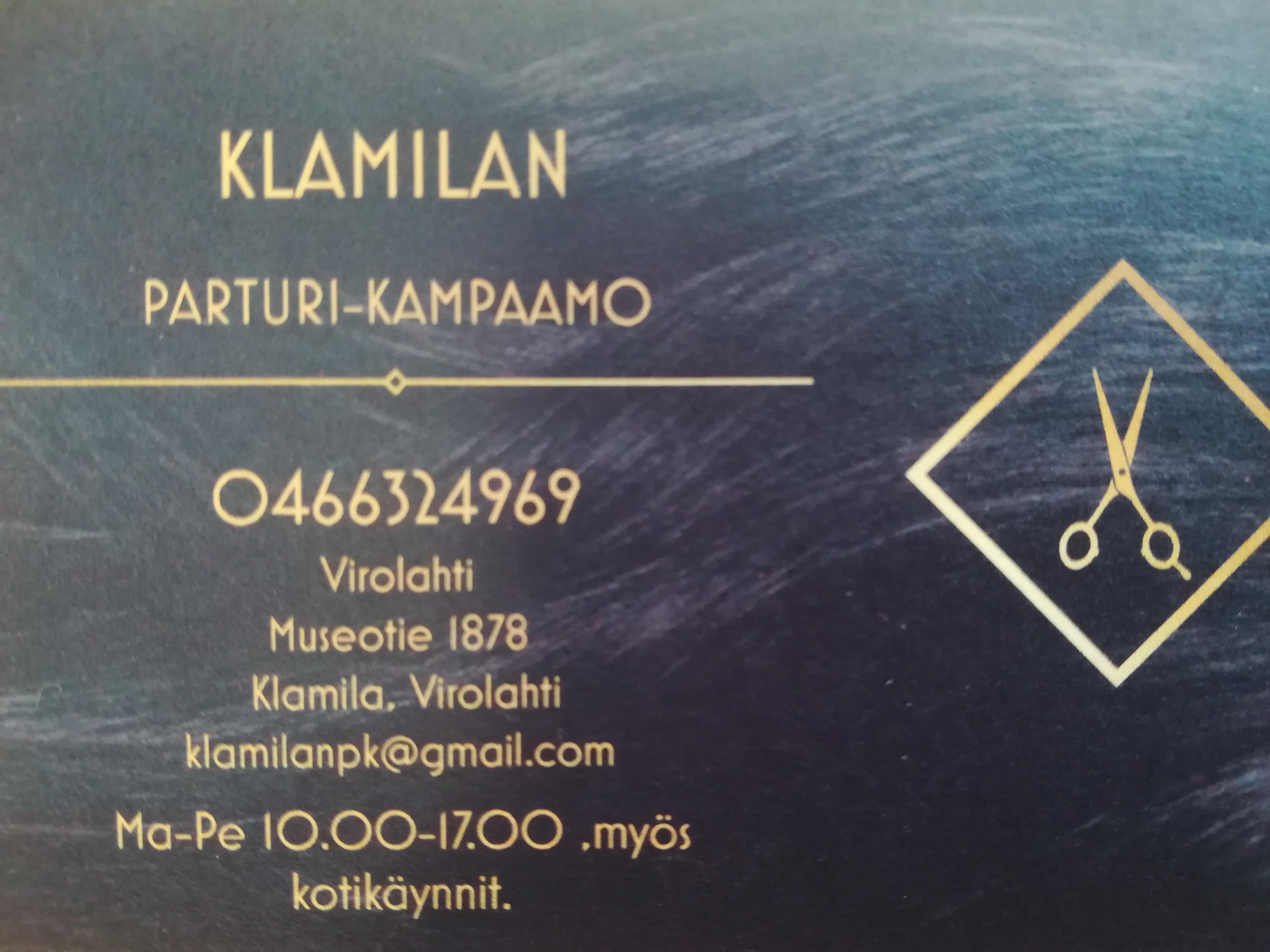 Klamilan Parturi-Kampaamo