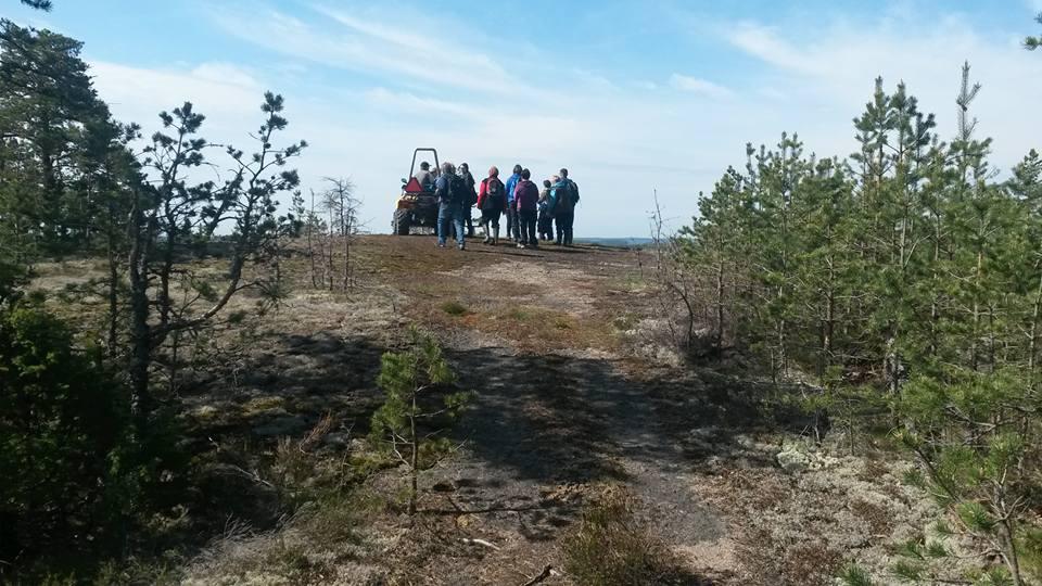Vuoren valloitus päivä  Laukko(u)vuorella Häppilässä.